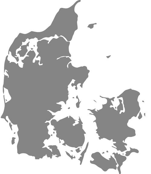 Dk Kort Sct Georgs Gilderne I Danmark